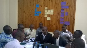 The groundnut team at the training workshop. Photo: ICRISAT